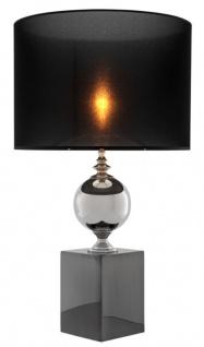 Casa Padrino Luxus Tischleuchte / Tischlampe - Designer Wohnzimmer Hotel Accessoires