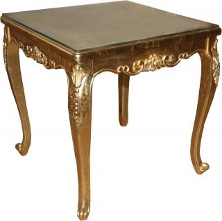 Casa Padrino Barock Luxus Esstisch Gold 200 cm x 100 cm- Esszimmer Tisch - Made in Italy - Vorschau 2
