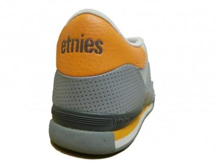 Etnies Skateboard Schuhe Arrow Grey/Orange/White Hohe Qualität