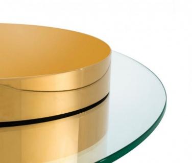 Casa Padrino Art Deco Luxus Couchtisch Gold - Limited Edition - Vorschau 3