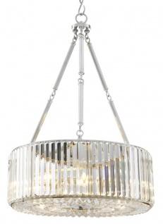 Casa Padrino Luxus Kronleuchter Silber 53 x H. 77, 5 cm - Luxus Hotel Kollektion