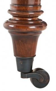 Casa Padrino Luxus Schreibtisch / Sekretär Mahagony Wood Antik Stil Braun 175 x 80 cm - Vorschau 3