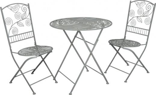 Balkonmöbel set metall  gartenmöbel tisch stuhl online bestellen bei Yatego
