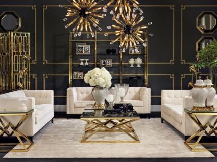 Casa Padrino Antik Stil Luxus Barock Blumenvase Glas Hotel Dekoration - Blumengefäss Standvase - Vorschau 3