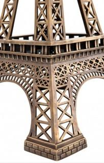 Casa Padrino Luxus Standleuchte Eiffelturm Messingfarben - Massives Metall - Leuchte Lampe - Tischleuchte Tischlampe, Stehleuchte, Stehlampe - Vorschau 2