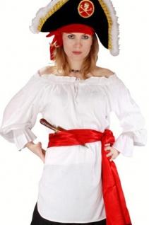 Mc Greedy Piraten Bluse - White