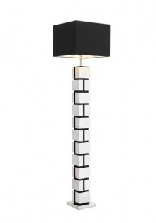 Casa Padrino Luxus Stehleuchte Nickel - Luxury Collection