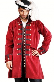 Captain Benjamin Piraten Mantel - Red