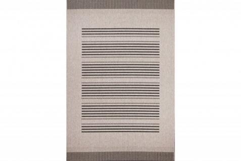 Casa Padrino Teppich Mediterran Silber-Grau - Designer Teppich