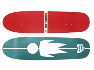 Alien Workshop Oldschool Skateboard Deck Pong Pusher 31.75 x 8.25