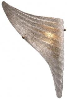 Casa Padrino Luxus Wandleuchten Set Antik Messingfarben 20 x 9 x H. 40 cm - Wandlampen im Flügel Design - Vorschau 4