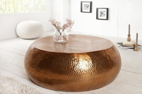 Casa Padrino Luxus Couchtisch kupfer 82 cm kupfer - Wohnzimmer Salon Tisch - Vorschau 5