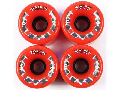 Big Foot Longboard Wheels BOHOs Orange 70mm / 80a Wheel Set Rollen Skateboard Cruiser Bigfoot