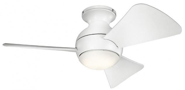 Casa Padrino Luxus Deckenventilator Matt Weiß 86 x H. 28 cm - Moderner dimmbarer Ventilator mit LED Beleuchtung und Fernbedienung - Luxus Kollektion