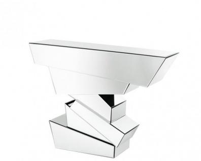 Casa Padrino Luxus Spiegelglas Konsole 120 x 40 x H. 90 cm - Luxus Hotel Möbel - Vorschau 1