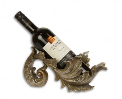 Casa Padrino Designer Weinständer Bronze Mod.2 - Weinregal - Weinhalter - Flaschenhalter