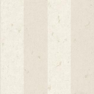 Casa Padrino Barock Vliestapete Creme / Beige 10, 05 x 0, 53 m - Tapete mit Streifen - Deko Accessoires