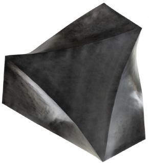 Casa Padrino Designer Stahl Couchtisch Dunkelgrau 107 x 120 x H. 41 cm - Wohnzimmertisch - Designer Wohnzimmer Möbel - Vorschau 5