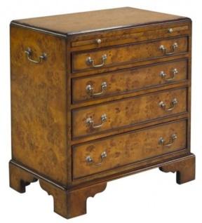 Casa Padrino Luxus Jugendstil Kommode mit 4 Schubladen Braun 62 x 39 x H. 70 cm - Luxus Qualität - Vorschau 1