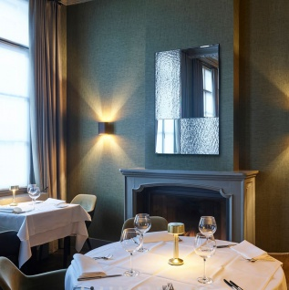 Casa Padrino Luxus Wandspiegel Schwarz 80 x 2 x H. 120 cm - Hotel & Restaurant Spiegel - Luxus Kollektion - Vorschau 3