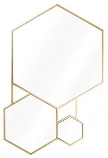 Casa Padrino Luxus Spiegel Gold 87 x H. 132 cm - Wohnzimmerspiegel