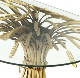 Casa Padrino Luxus Konsole Antik Gold 90 x 45 x H. 76 cm - Designer Konsolentisch - Vorschau 5