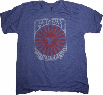 Fallen Skateboard T-Shirt Blue/Red