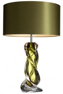 Casa Padrino Designer Tischleuchte Grün - Luxus Tischlampe