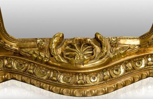 Pompöös by Casa Padrino Barock Standspiegel Gold 134 x H. 257 cm - Handgeschnitzt - Harald Glööckler Spiegel - Vorschau 4