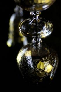 Casa Padrino Luxus Barock Brandy Glas 6er Set Gold Ø 9 x H. 14, 5 cm - Handgefertigte und handgravierte Cognacgläser - Hotel & Restaurant Accessoires - Luxus Qualität - Vorschau 4