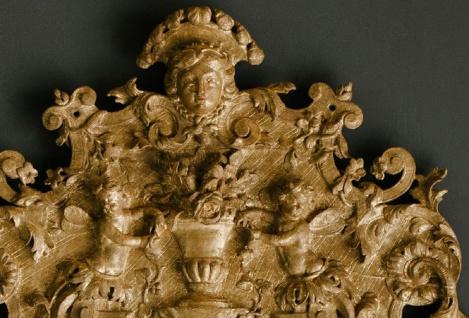Casa Padrino Barock Spiegel Gold 93 x H. 207 cm - Prunkvoller handgefertigter Wandspiegel mit wunderschönen Verzierungen - Vorschau 3