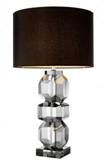 Casa Padrino Luxus Kristallglas Tischleuchte - Luxus Hotel Leuchte