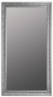 Casa Padrino Barock Spiegel Silber 72 x H. 132 cm - Handgefertigter Barock Wandspiegel