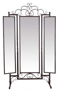 Casa Padrino Jugendstil Standspiegel Braun 129, 5 x 40 x H. 204 cm - Barock & Jugendstil Möbel