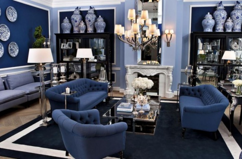 Casa Padrino Luxus Stehleuchte Nickel - Luxus Leuchte - Vorschau 2