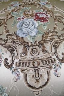 Casa Padrino Barock Sofa Creme Muster / Gold - italienischer Stil - Barock Möbel - Unikat! - Vorschau 2