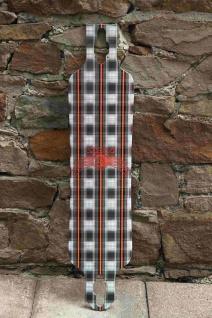 Dregs Slide 102 PLAID Longboard Deck 38 x 8.5 inch Cruiser Deck Flex5 (soft) - Lagerware mit leichten Kratzern