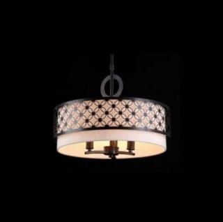 Casa Padrino Barock Decken Kronleuchter Dunkel Wenge 46, 7 x H 34, 4 cm Antik Stil - Möbel Lüster Leuchter Deckenleuchte Hängelampe