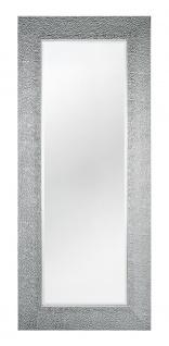 Casa Padrino Wohnzimmer Spiegel Silber 76 x H. 176 cm - Luxus Kollektion