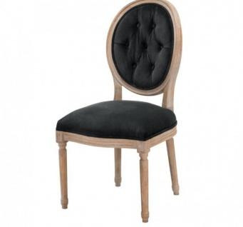 Casa Padrino Luxus Buchenholz Esszimmerstuhl - Luxus Qualität