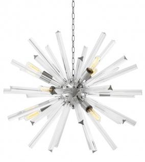 Casa Padrino Luxus Wohnzimmer Kronleuchter Durchmesser 75 cm - Designer Kollektion