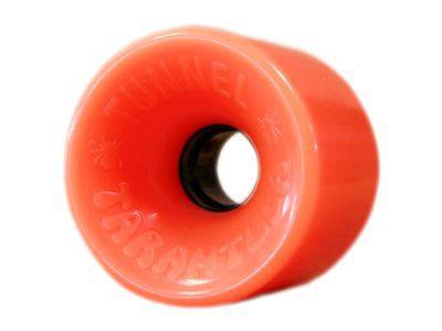 Tunnel Tarantula Longboard Wheels 70mm 84a Opaque Orange - Long Board Rollen - Wheel Set Oldschool (4 Rollen)