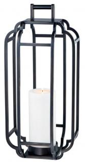 Casa Padrino Luxus Kerzenleuchter Rotguss 25 x 25 x H. 55 cm - Hotel Accessoires