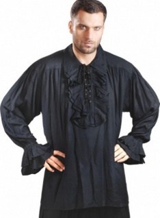 Captain Charles Vane Piraten Shirt - Black