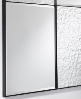 Casa Padrino Luxus Wandspiegel Schwarz 80 x 2 x H. 120 cm - Hotel & Restaurant Spiegel - Luxus Kollektion - Vorschau 2