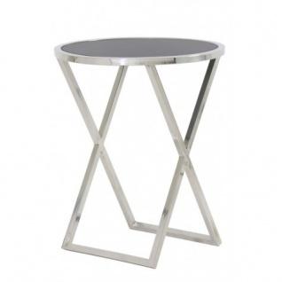 Casa Padrino Luxus Art Deco Designer Beistelltisch Ø50x60 cm - Designer Tisch
