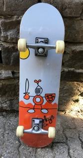 Murkys Skateboard Beginner Komplettboard 8.0 inch - 1B Ware mit Kratzern und Lagerspuren
