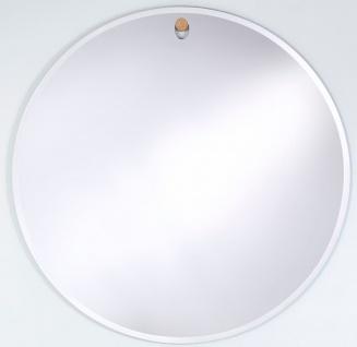 Casa Padrino Designer Wandspiegel Ø 122, 5 cm - Runder Luxus Spiegel
