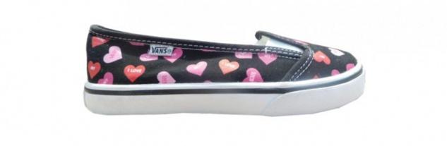 Vans Skateboard Schuhe KVD Black/Fandango Pink Candy Hearts