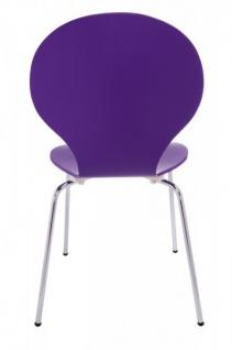 Casa Padrino Designer Stuhl Form Lila 8578 - Esszimmer Stuhl - Vorschau 4